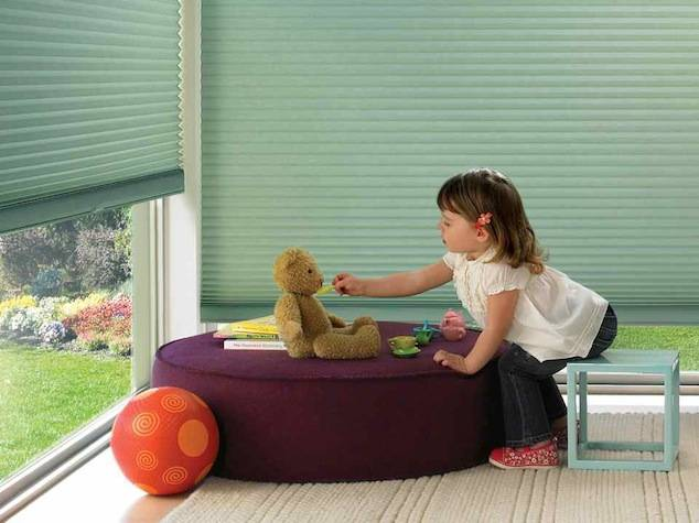 Honeycomb Shades in Children's Room