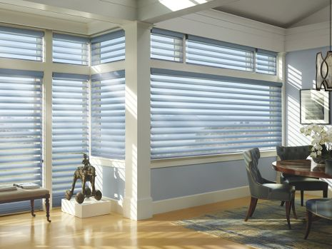 Silhouette Window Shadings Mystere Front Room