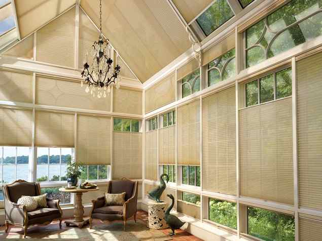 Duette Honeycomb Shades - Batiste Semi-Sheer