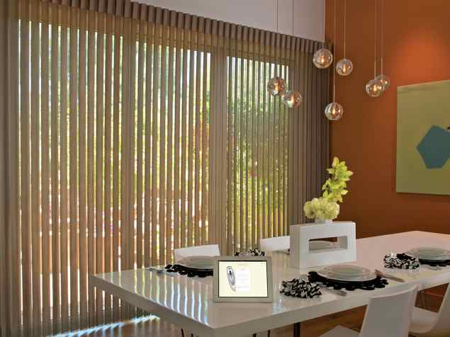 Motorized Luminette Privacy Sheers