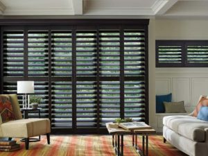 Customized Hardwood Shutters Hunter Douglas Wood & Faux Brentwood