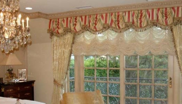 Valance-sheers