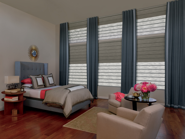Roman Shades window treatment